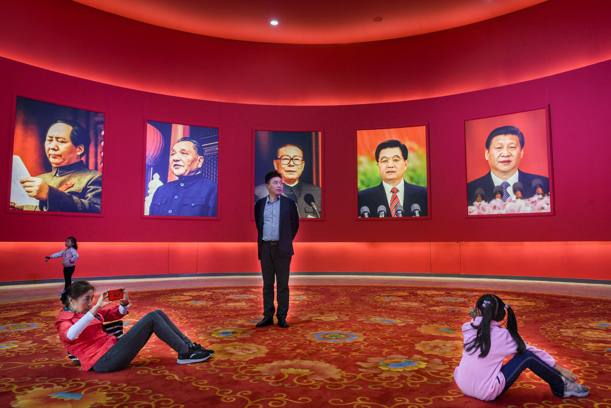 China leaders PRC 70th anniversary